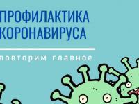 Меры профилактики коронавируса