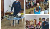 Сотрудник МЧС в гостях у воспитанников детского сада
